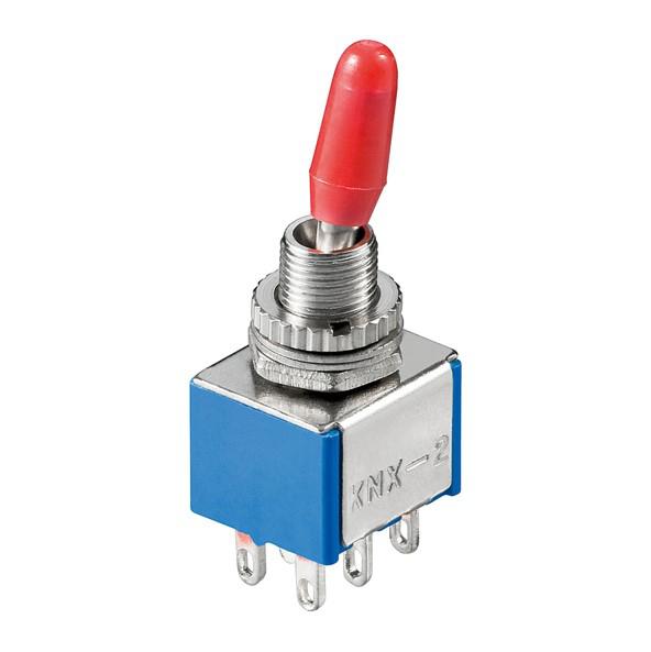 50-x-Miniatur-Kippschalter-Ein-Ein-6-polig-Loetoesen-Schalter-Mini