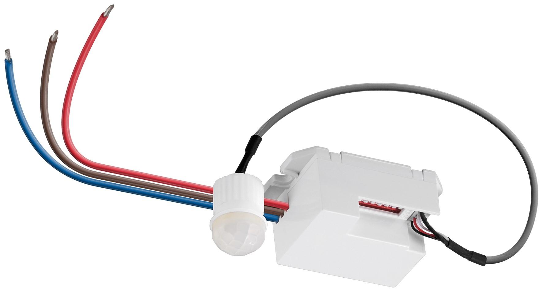 mini Led Bewegungsmelder KME 230V 1-800Watt 360° winkel lux einstellbar