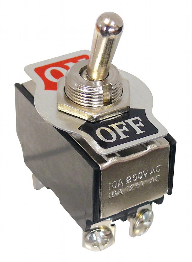 Kippschalter-Leistungsschalter-2-x-Ein-Aus-4-pol-Schraubanschluesse-230-V-10-A